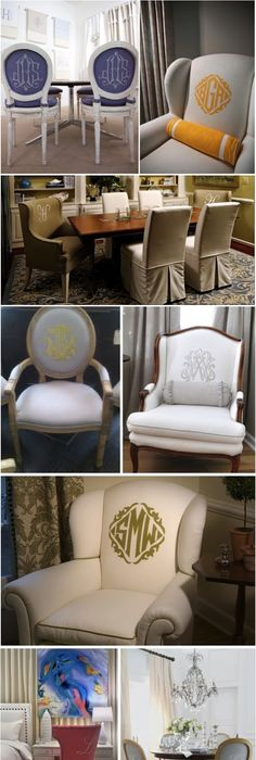 monogrammed dining room chairs with slipcovers white-chair-covers