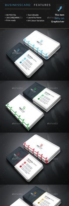 Doctor business card design find some free business cards designs doctors business card reheart Image collections