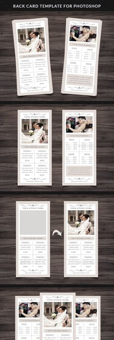 Weight Loss Clinic Rack Card Template  Layouts    Card