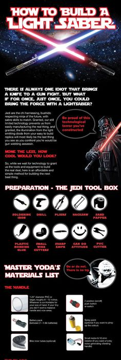 how to make a lightsaber lightsaber summer and star