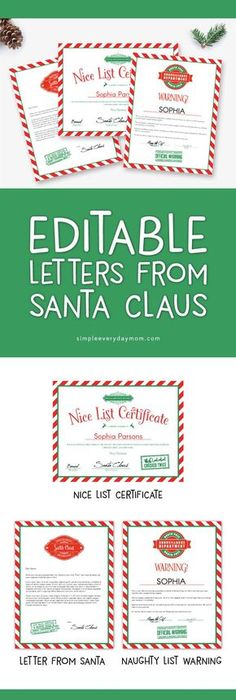 Saving 4 a sunny day santas nice list certificate deals cutest free santa nice list certificate see more printable letters from santa your kids will love getting these christmas printables included is yadclub Choice Image
