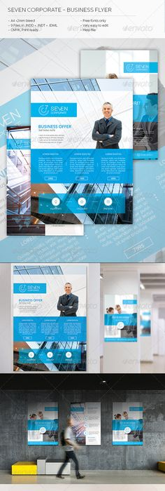 Flat Web Design Flyer  Flat Web Design Flat Web And Flyer Template