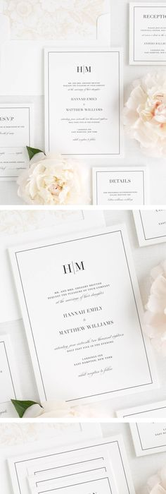 Modern Stitch by Amy Kross at minted Wedding Invitations - fresh sample wedding invitation tagalog version