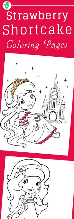 strawberry shortcake printables Strawberry Shortcake Coloring - best of lego friends coloring in pages