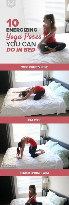 9 Relaxing Stretches You Can Do In Bed Easy Fitness And Morning Yoga