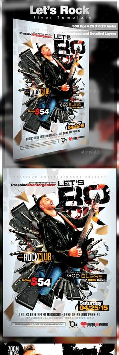 Colour Of Music Flyer Template Music Flyer Flyer Template And