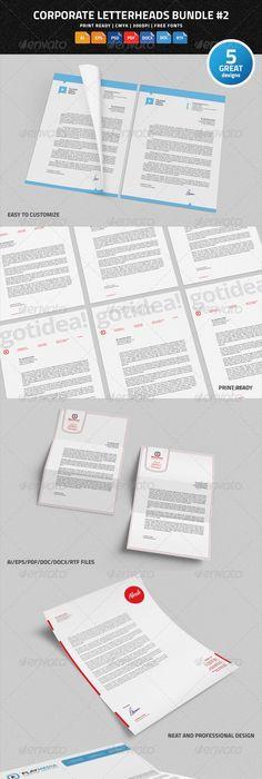 Letterhead  Ci    Word Doc Letterhead Design And