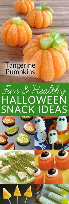 OMG These Halloween treats are easy, adorable, and fun! Food - cheap halloween food ideas