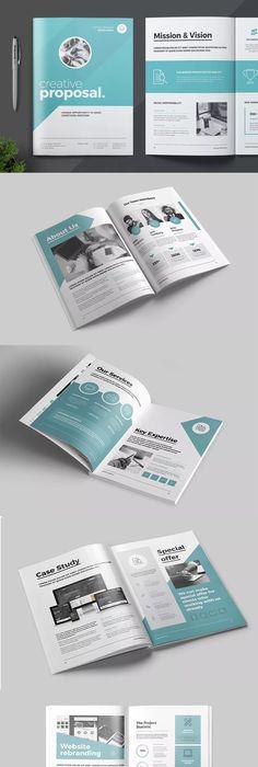 E-Commerce | Online Promotional Bi-Fold Brochure Template InDesign ...