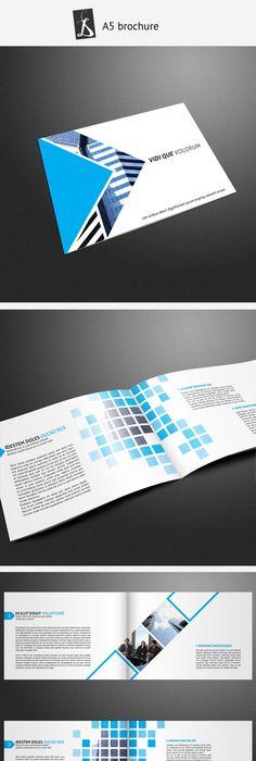 A Booklet  Catalogue  Brochure Layout Using Circles  Design