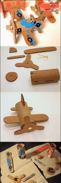 DIY Easy Airplanes DIY \ Crafts Tutorials crafts Pinterest - faire son plan de maison soi meme