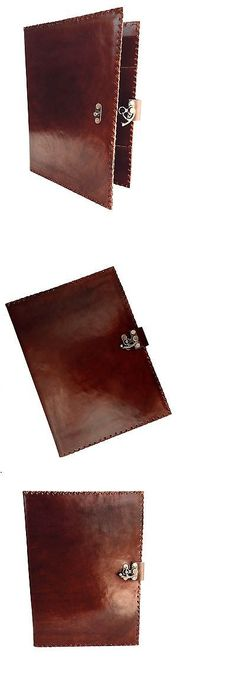 Leather Resume Portfolio Organizers And Day Planners 15665 Komalc Genuine Leather Business .