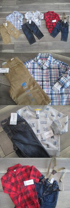Mixed Items And Lots 147342 5 Piece Lot Of Fall Winter Baby Boy