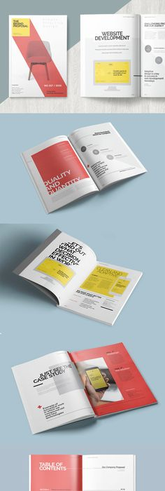 Business Proposal 22 Pages Template Indesign Indd Ai Illustrator