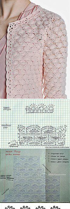 Crochet green crochet cardigan diagrama teresa restegui http bolero crochetcrochet jacketcrochet cardigangilet crochetcrochet doily diagramcrochet ccuart Image collections