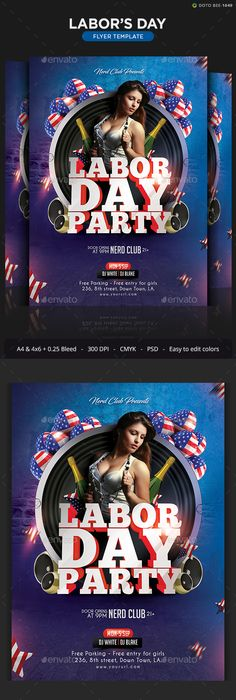 Club Flyer New Year  Flyer Template Party Flyer And Template