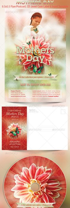 MotherS Day Flyer Template By Gayuma On Creativemarket  Mothers