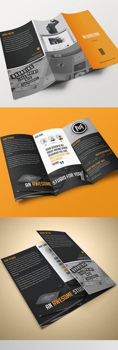 Construction TriFold Templates  Tri Fold Brochure Template Tri
