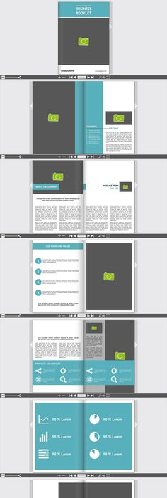 Plantilla De Folleto Con Formas Hexagonales Vector Gratis  Ideas