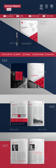 Modern Template Design | Template and Presentation templates