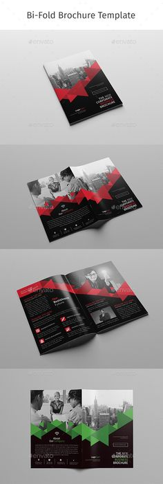 Corporate Bi Fold Brochure Template PSD. Download Here: Http://graphicriver