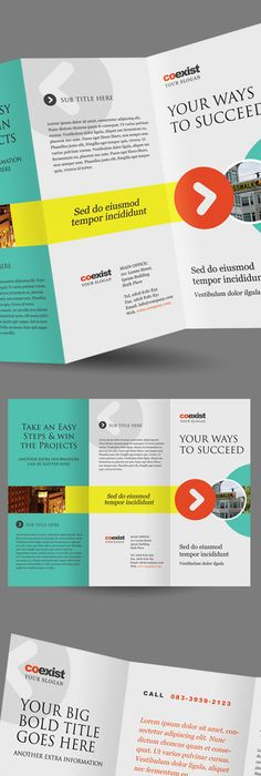 Free Brochure Templates Psd Download  Brochures Brochure