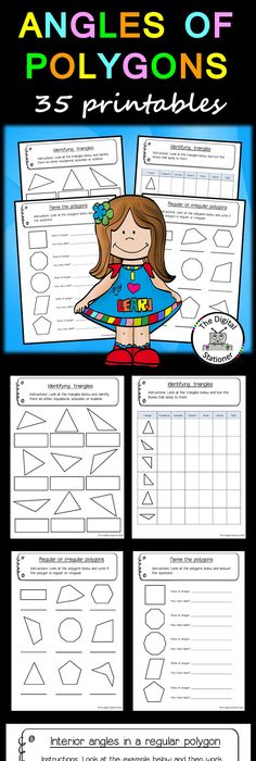 Free Similar Polygons Color By Number Activity Worksheet