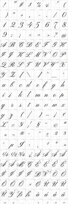 Wingdings Chart Dingbat Symbol Fonts  Symbols Safari Fifty