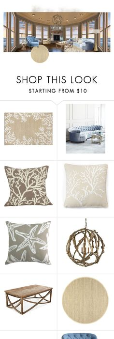 Pomeroy Faux C Table Decor 57 Liked On Polyvore Featuring Home White Coastal D