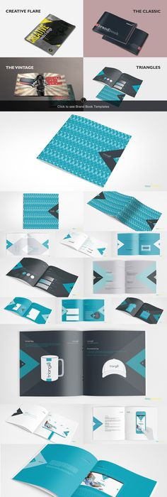 Brand Manual Template #design Buy Now   graphicrivernet/item