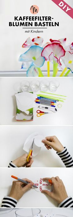 A Colorful Coffee Filter Umbrella Craft [From the Mamas] | Sprinkles ...