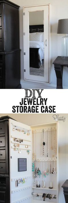 Easy inexpensive do it yourself ways to organize and decorate your diy jewelry organizer solutioingenieria Choice Image