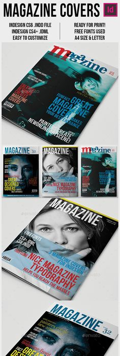 Gamers Magazine Cover Templates   Magazine cover template, Magazine ...
