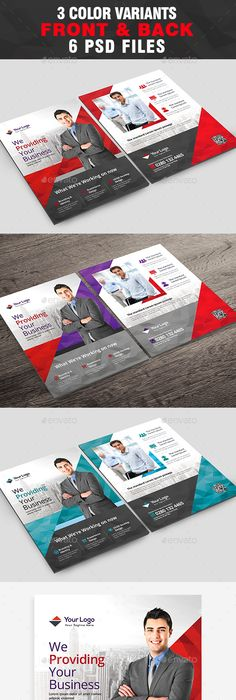 Corporate Business Flyer Template Psd Flyer Templates