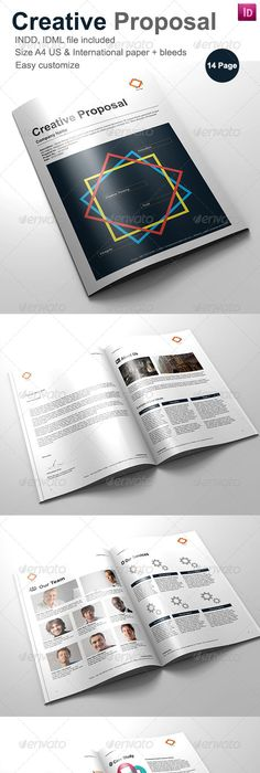 Modern Proposal Template  Proposal Templates Proposals And Template