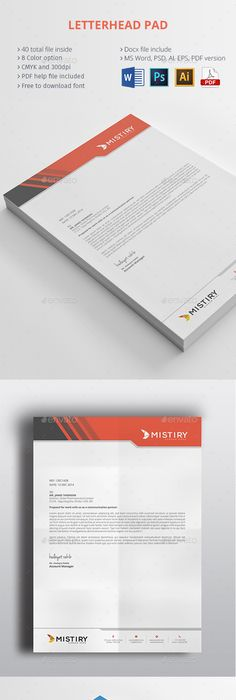 Construction Company Letterhead Template Letterhead  Letterhead Design Stationery Printing And Print Templates