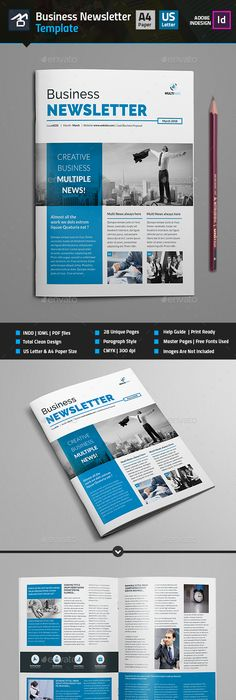 Business Newsletter Vol VII Business, Print templates and Template - sample business newsletter