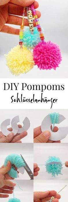 Pompons Selber Machen Papier 51 easter crafts for pom pom animals easter and