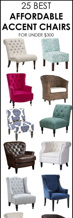 Accent Chairs Under $300   The Perfect Addition To Any Room Nice Ideas