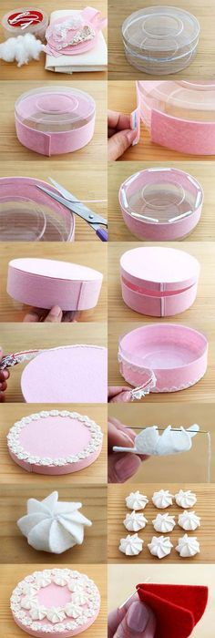 Diy paper birthday cake box pictures photos and images for diy beautiful gift box decorated like a cake solutioingenieria Gallery