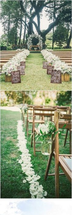 20 Breathtaking Wedding Aisle Decoration Ideas To Steal   Page 3 Of 3