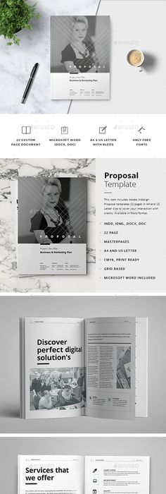 Clean Golf Tournament Proposal  Proposals Proposal Templates And