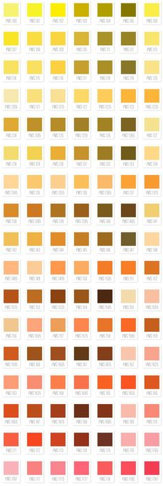 Carta Color Pantone   Color Pantone Chart   Apuntes De Diseo