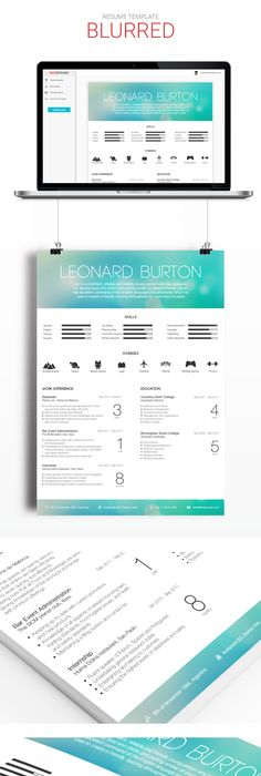 Beautiful Minimalistic And Infographic Resume Design By Www