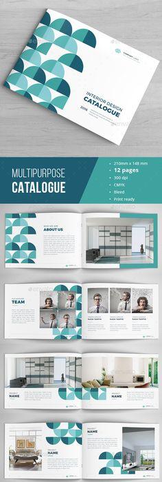 2 In 1 Creative Tri Fold Brochure Bundle Corporate Brochure