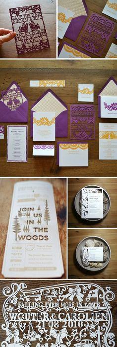 Spanish Style Laser Cut Invitations Cuttings, Silhouettes and - fresh invitation dalam bahasa inggris