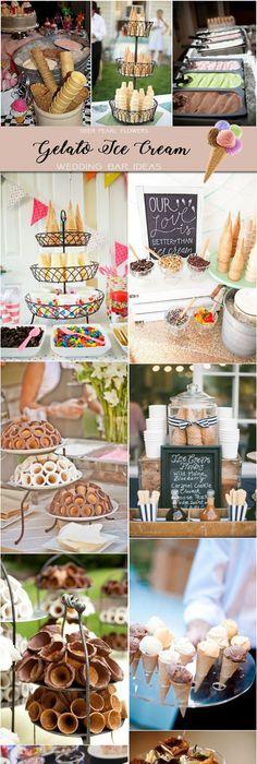 Wedding Catering Trends Top 8 Dessert Bar Ideas Gelato Ice Creamice