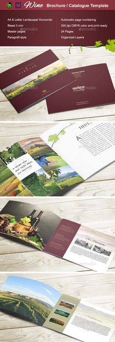 A5 Italian Wine And Corporate Catalogue Brochures Wine And Catalog