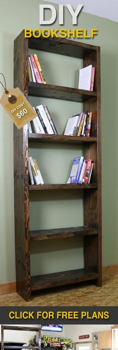 Kentwood bookshelf do it yourself home projects from ana white a simple diy bookshelf and how hobbies have a positive impact on people solutioingenieria Gallery