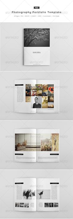 A Landscape BrochureLook Book Indesign Template  Catalogs